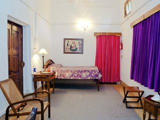 Comfortable Bibi Rajkumari Sahib Kaur room for an individual in a Heritage Palac