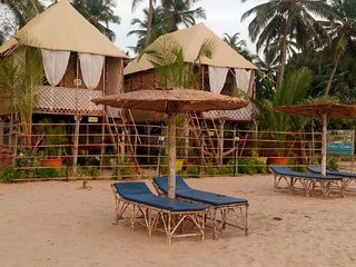 Homely stay for 2 on Agonda Beach