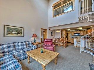 Luxury 2Br + loft, Lodge at Kirkwood – Unbeatable Location