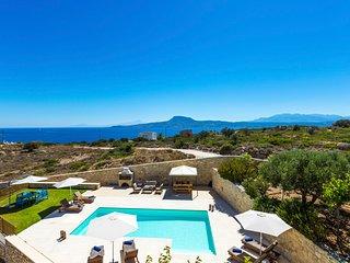 4 bedroom Villa in Loutraki, Crete, Greece : ref 5611700