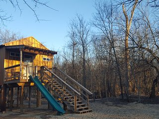 Tree house cabin/ Penny Ante