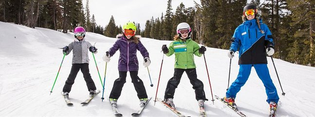 Canyon Lodge offers group and private ski lessons for all ages.