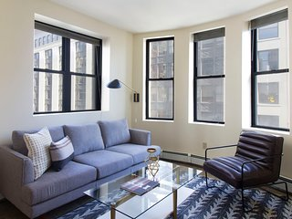 Contemporary 2BR in Financial District by Sonder