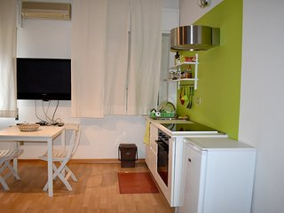 Cosy studio in Palermo with Parking, Internet, Washing machine, Air conditioning
