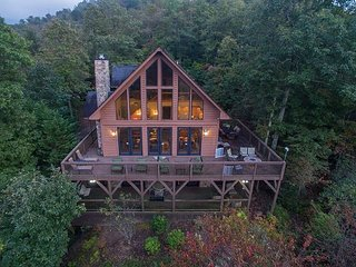Million Dollar views! Large chalet-style home perfect for two couples!