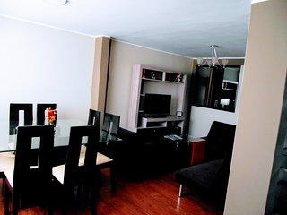 Apartamento amoblado V&B