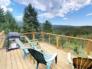 Beautiful home with two large decks & mountain views - near outdoor activities!