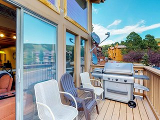 NEW LISTING! Enjoy a wood fire, balcony w/ mountain view at home - close to ski!