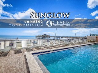 Jan Specials! Oceanfront Sunglow Condominium - 2BR/2BA #802