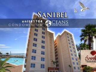 Nov Specials! Sanibel Penthouse Oceanfront Condo - 3BR/3BA #1104