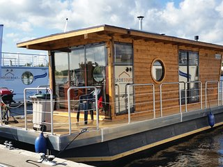 Houseboat Finland: Houseboat Eco-Wood 21 m2/ 4 pers.