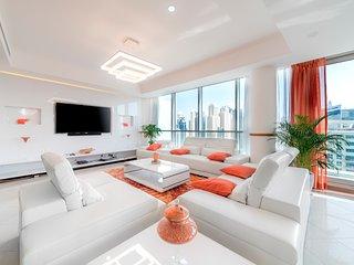 Dubai Marina Amazing Triplex Penthouse Priv. Pool