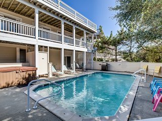 Oyster Catcher | 400 ft from the Beach | Private Pool, Hot Tub | Corolla