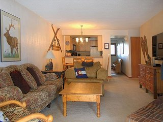 Beautiful condo located on Lake Dillon, gorgeous views with sunroom