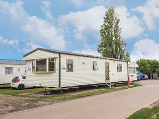 6 berth caravan with D/G & C/H, close to play area. At California Cliffs. 50019C