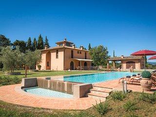 4 bedroom Villa in Monte Lopio, Tuscany, Italy : ref 5049079