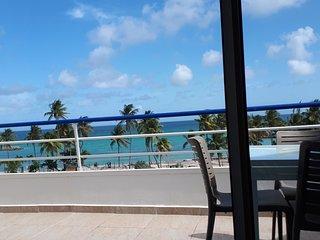 PARADISE · magnifique T2 vue et accès direct à la plage