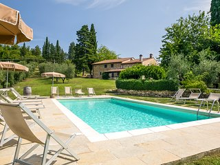 9 bedroom Villa in L'Opaco, Tuscany, Italy : ref 5475859