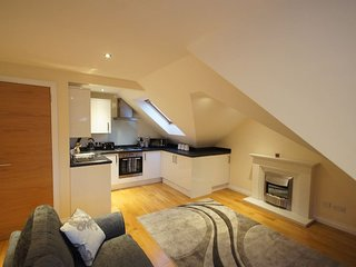 Modern,Cosy Flat In Bearsden Next To Train Station