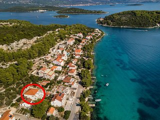 One bedroom apartment Lumbarda (Korčula) (A-10049-c)