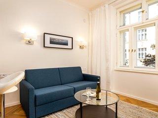 Studio apt in heart of Prague - street view, easy access to dining & metro line