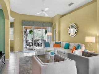 Gorgeous 5Bed home /Private Pool / Game Room in Calabay Parc CP127 Disney Area !
