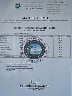 Permit to Operate