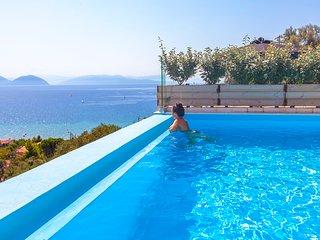 Brand new villa with sea view and private pool in Lefkada