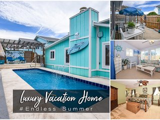Feb Specials! 'Endless Summer' - Luxury Pool Home - 3BR/4BA