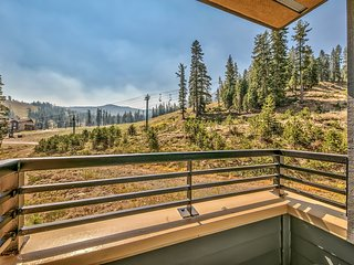Luxury Slope Side Style in this Two Bedroom at Kirkwood