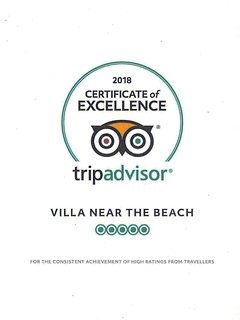 Thanks to our exceptional guests and their good live advice, we got the Certificate this year again.