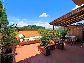 Il Sogno - Romantic Attic with View near Vatican