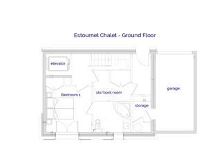 Chalet Estournel - Self-Catering - Sleeps 8+