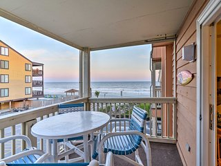 NEW! Oceanfront Murrells Inlet Condo w/Shared Pool
