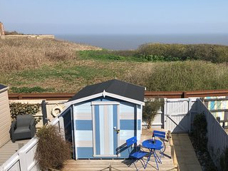 The Lookout is a beautiful modern upside down house with fantastic sea views