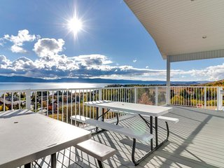 NEW LISTING! New home with Bear Lake views and shared pool, hot tub, and tennis!