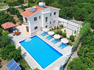 Villa Leda Finiki: Latchi Villa, pool, secluded, A/C, Wi Fi
