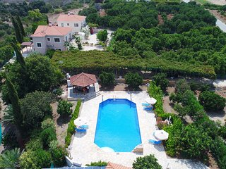 Villa Athina Finiki: Private pool and gardens, A/C, Wi Fi, sea views