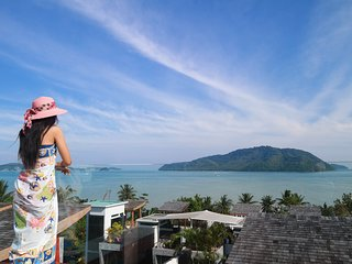 Panoramic Sea View Luxury 4•BDRM Holiday Residence - Rawai, Phuket, Thailand
