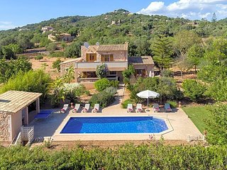 5 bedroom Villa in Cas Concos, Balearic Islands, Spain : ref 5681155