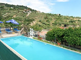 2 bedroom Apartment in Le Mimose, Liguria, Italy : ref 5651157