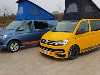 Volkswagen t6 campervan hire 4 berth