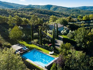 3 bedroom Villa in Volpaia, Tuscany, Italy : ref 5621888