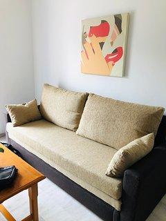 Sofá-cama de 150X195cm nuevo de Julio de 2018