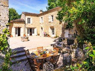 5 bedroom Villa in Montagnac-sur-Auvignon, Nouvelle-Aquitaine, France : ref 5621