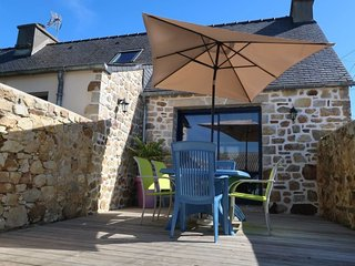 2 bedroom Villa in Gaoulac'h, Brittany, France : ref 5650209
