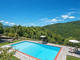 6 bedroom Villa in Molin Nuovo, Tuscany, Italy : ref 5621401