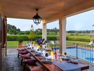 5 bedroom Villa in Sineu, Balearic Islands, Spain : ref 5621403