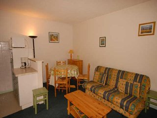 Rental Apartment Gourette, studio flat, 6 persons