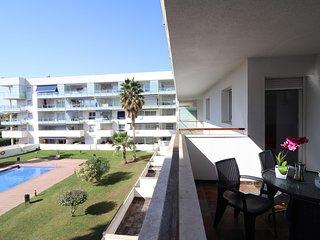Apartamento con piscina en alquiler en Roses-PORT MAR 218